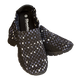 Skooda Black Speckle Slip on leisure and water shoes