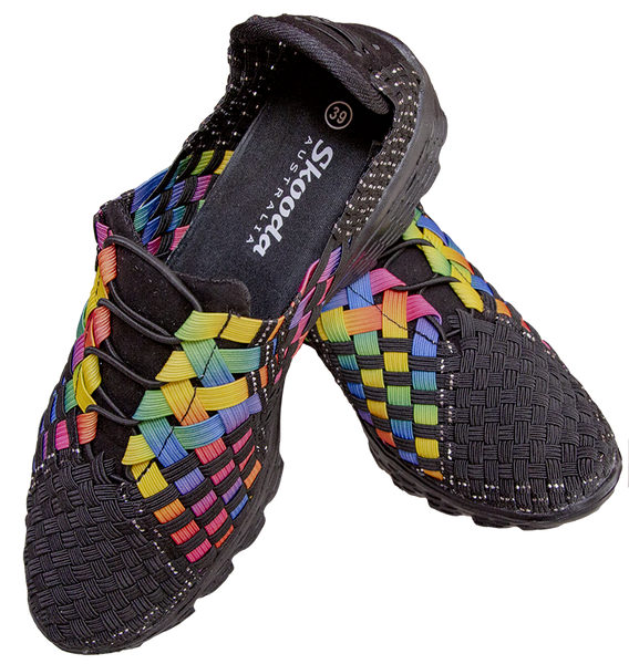 Rainbow Sporty, Water  Shoe, Skooda