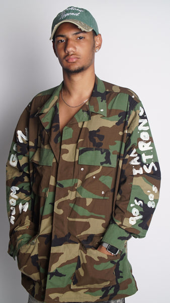 MENS MADE STRONG-ARMY JACKET