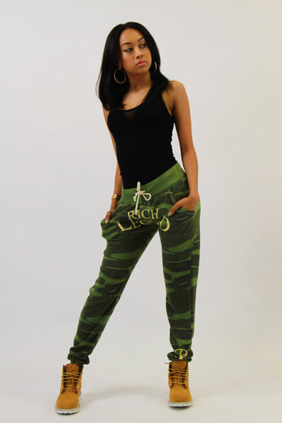 WOMANS ARMY RL JOGGERS