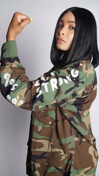 WOMAN'S MADE STRONG LE JACKET
