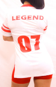 WOMEN'S RED LEGEND JERSEY SHIRT