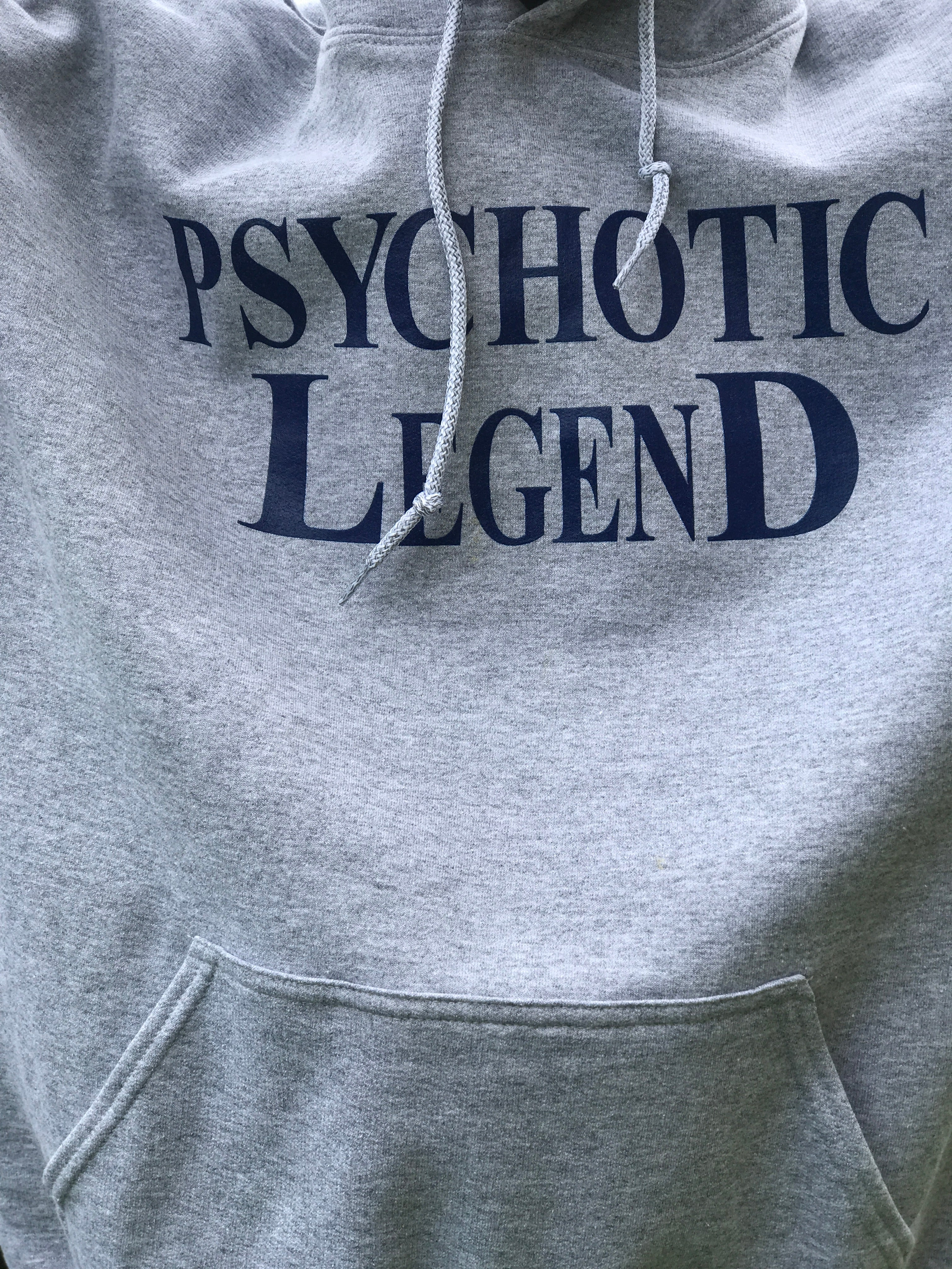 HALL OF FAME GREY/NAVY BLUE HOODIE