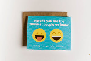 Card - Funniest People - Clover Lane Crates, Add a Card - Clover Lane Crates