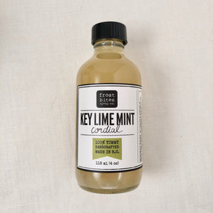 Key Lime Mint Cordial