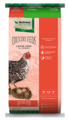Nutrena, Country Feeds Layer 16% Crumbles, 50 LB bag