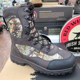 "Red Wing Shoes, Irish Setter Brand, Trail Phantom 9"" Waterproof Leather Insulated Realtree Camo Boot, size 10D"