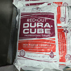 Pro's Pick Red-Out DURA-CUBE, water softener salt,  40 LB bag