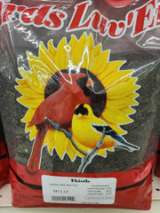 Birds Luv'EM Thistle Seed, 10 LB bag