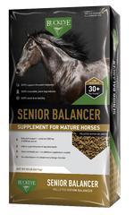 Buckeye Senior Balancer Supplement for Mature Horses