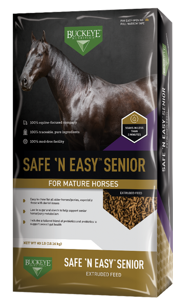 Buckeye Safe 'N Easy Senior Extruded Feed