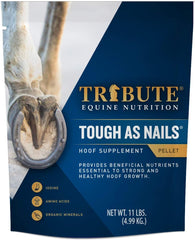 Tribute Equine Nutrition Tough As Nails Hoof Supplement, 11 LB bag