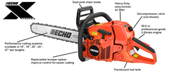 "Echo CS-620P Chainsaw with 27"" Bar Length"