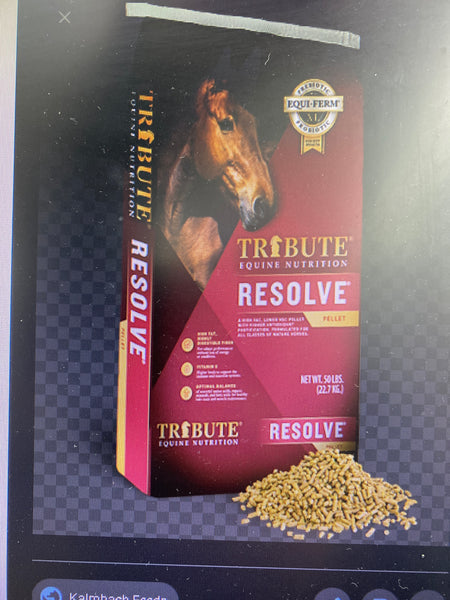 Tribute Resolve 50#