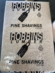Robbins pine bedding shaving