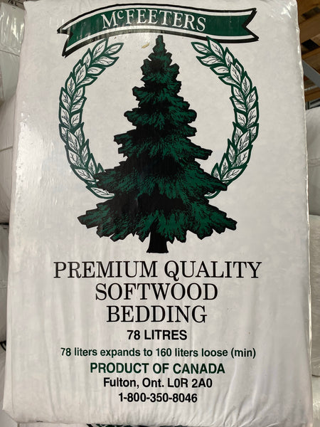 McFeeters pine shavings