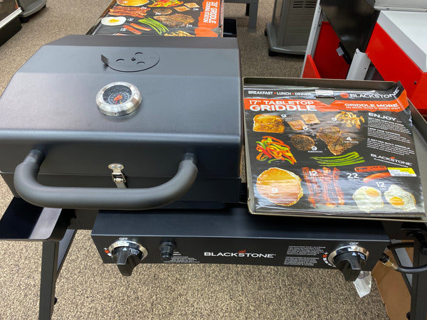 Blackstone Tailgater Combo Griddle + Grill
