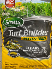 Scott's turf builder weed & feed 15000