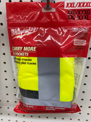 Safety vest high vis. Size xxl/3xl
