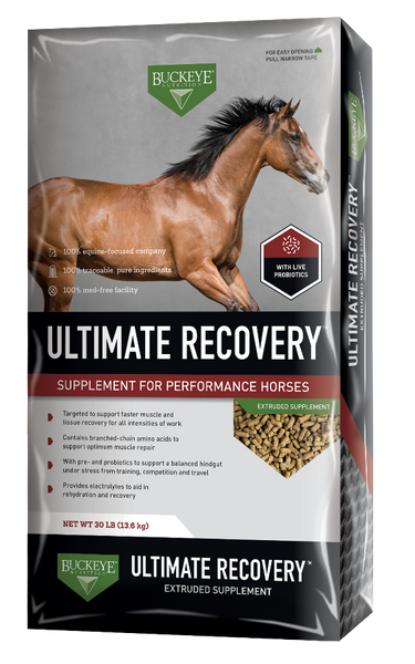 Buckeye Ultimate Recovery Extruded Performance Supplement