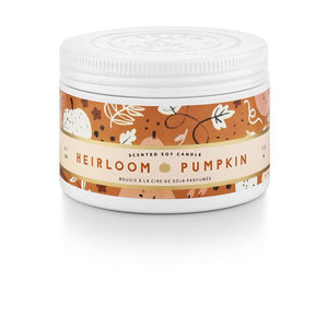 Heirloom Pumpkin Small Tin Candle