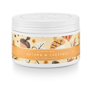 Autumn Chestnut - Large Tin Candle