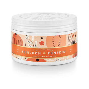 Heirloom Pumpkin - Large Tin Candle