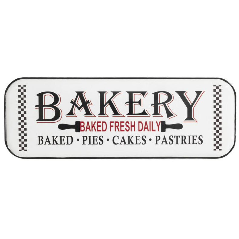Checkered Bakery Sign