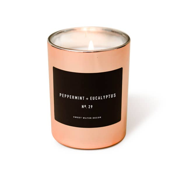Rose Gold Candles