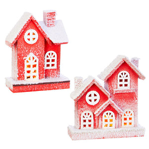 10.5 Lighted Houses