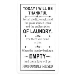 Thankful - Laundry Sign