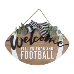 Welcome Football Sign