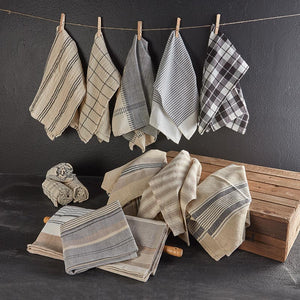 Farmhouse Natural Tea Towel Set