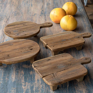 Wooden Cutting Board Risers