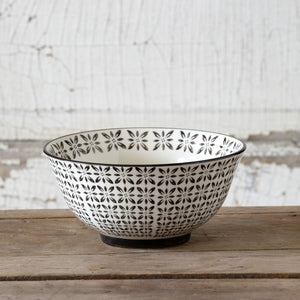 Norden Pattern Ice Cream Bowl