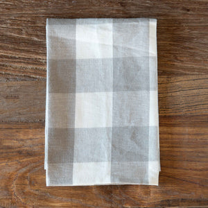 Stone Buffalo Check Cloth Napkin