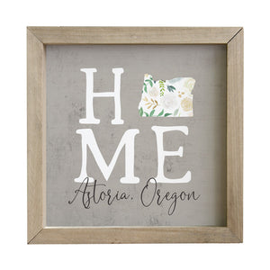 Home Floral - Custom Sign