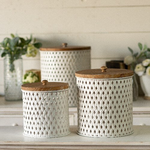 Braided Metal Canisters