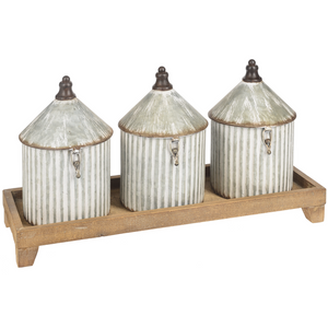 Silo Canister Set