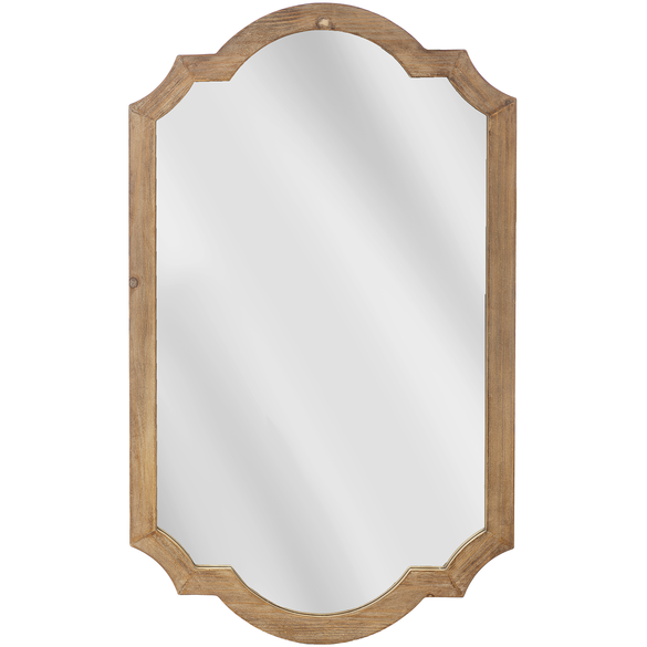 Curved Edge Wall Mirror