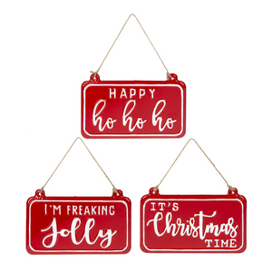 Holiday Wall Plaques
