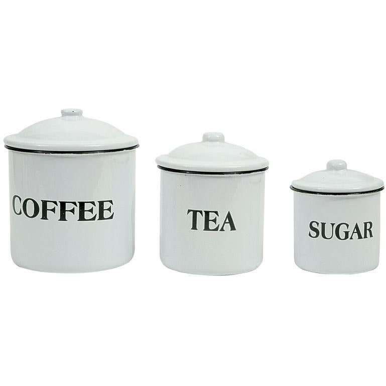 Coffee, Tea & Sugar Containers