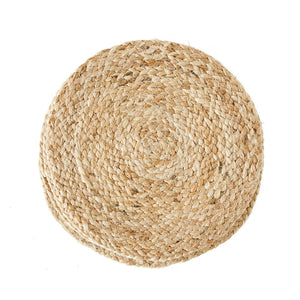 "14"" Round Jute Woven Placemat"