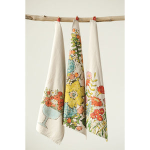 Floral Tea Towels