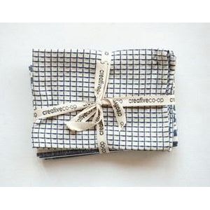 Cotton Tea Towels - Blue