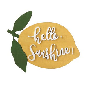 Hello Sunshine - Sign