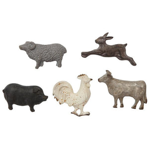Animal Magnets Set of 5