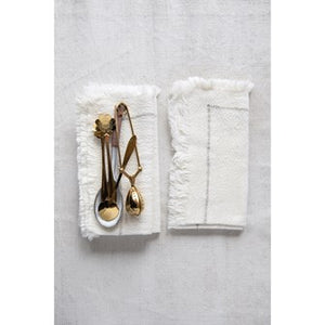 Square Woven Cotton Napkins