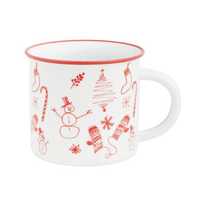 Holiday Doodles Camp Mug