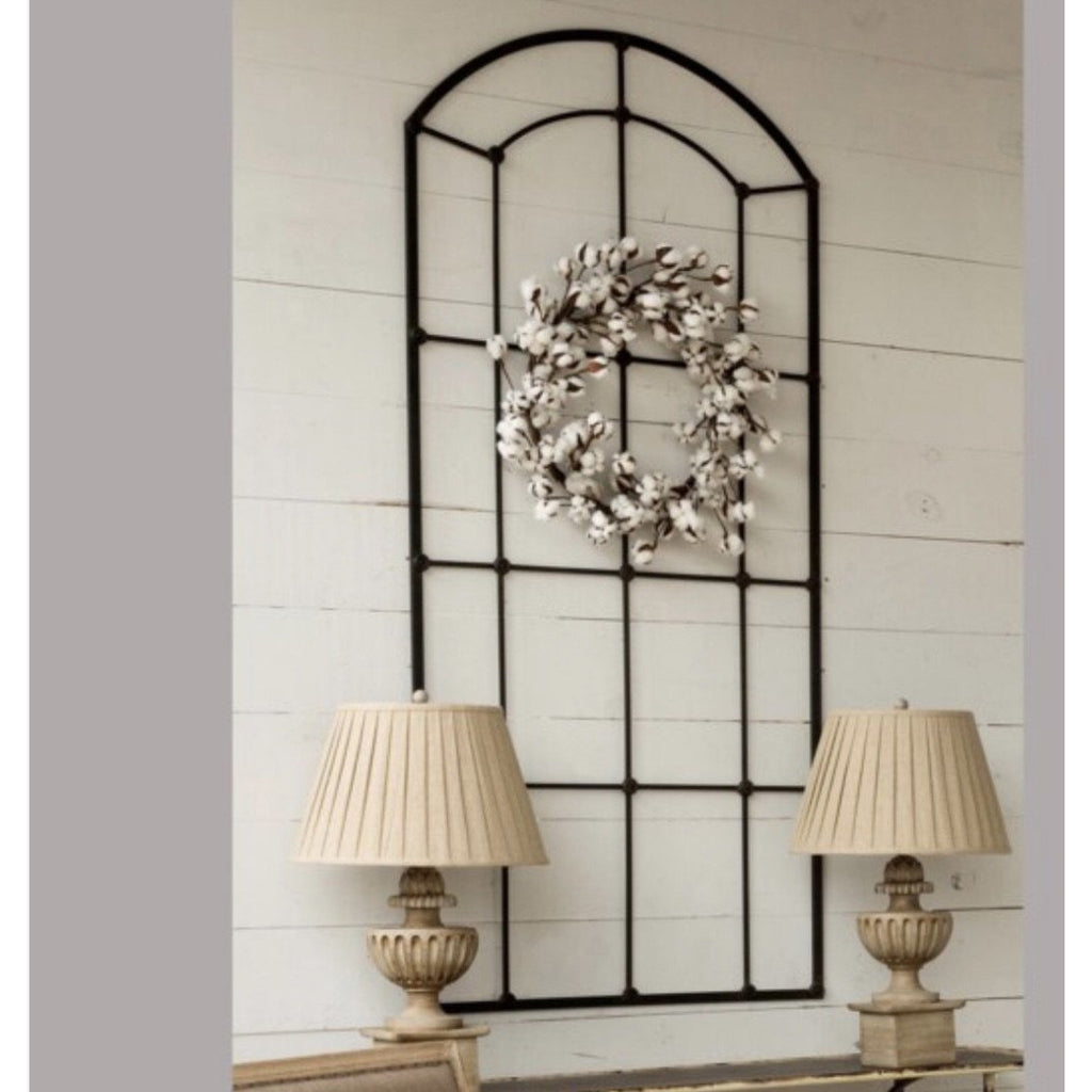 Decorative Metal Window Frame